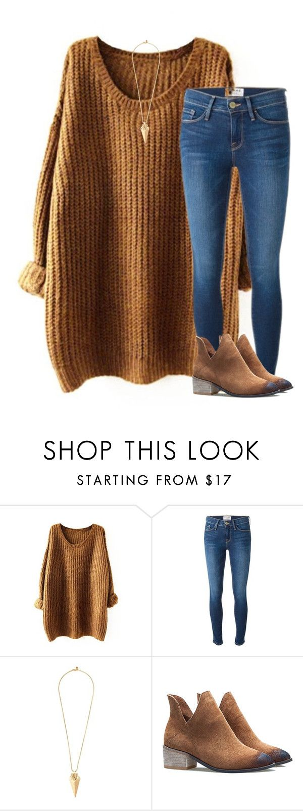 """GOT A HOCO DATE TODAY!!!!!"" by katherinecat14 ❤ liked on Polyvore featuring Frame Denim and Tory Burch"