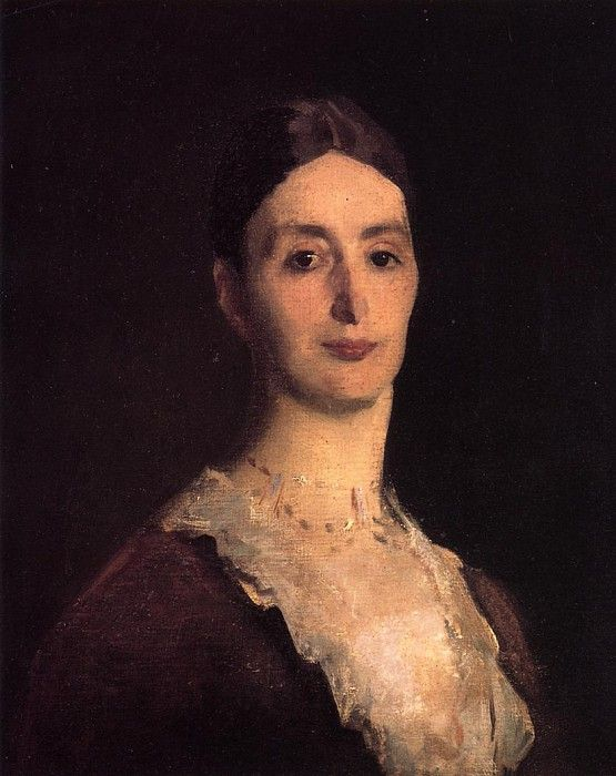 Frances Mary Vickers 1884. Джон Сингер Сарджент