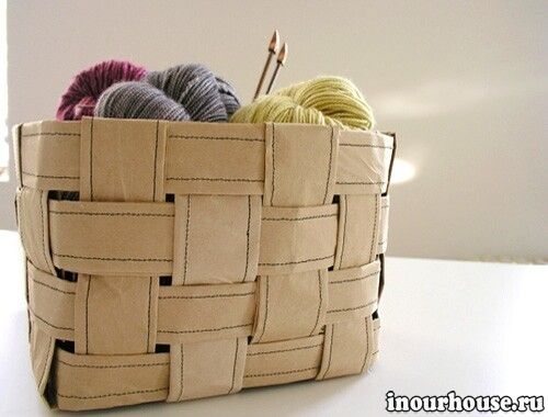 paper basket for small things