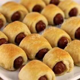 Mini Crescent Dogs (Pigs in a Blanket)! Just 2 ingredients! Always a big hit at every gathering! Love it? Pin it to your APPETIZER board to SAVE it! Follow Spend With Pennies on Pinterest for more great recipes! These are always a HUGE hit no matter what type of gathering you are having! With justContinue Reading...
