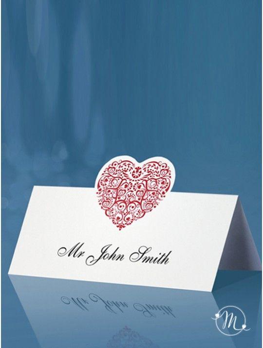Segnaposto Cavaliere cuore rosso. Da posizionare nei tavoli degli invitati, questi segnaposto, renderanno unico il vostro evento. Ordine minimo 10 pezzi e multipli di 10. Misure: 9 x 6.5cm. In #promozione #matrimonio #weddingday #ricevimento #wedding #segnaposto #segnatavolo #decorazioni #sconti #offerta