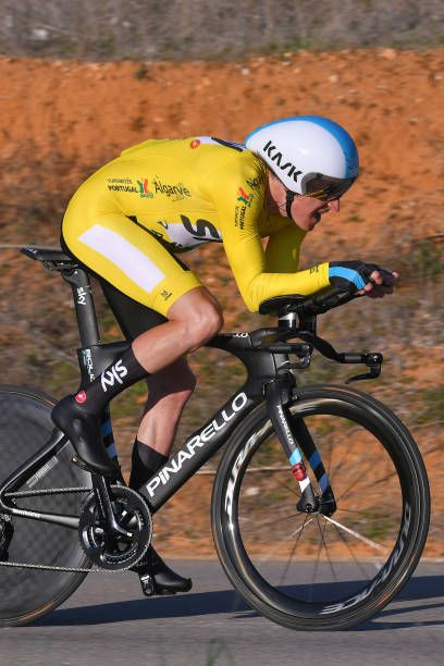44th Volta Algarve 2018   Stage 3 Geraint Thomas of Great Britain Yellow  Leader Jersey   Lagoa Lagoa   Individual Time Trial   ITT    8cdcae061