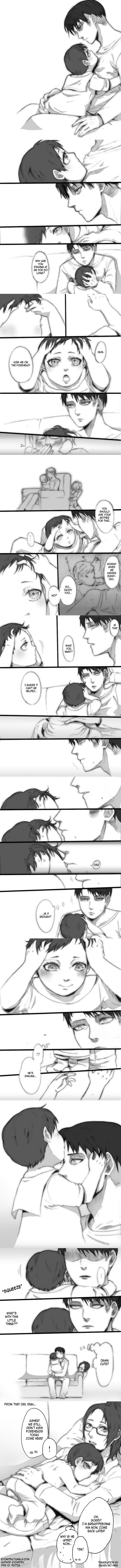 Levi ♥ Hanji