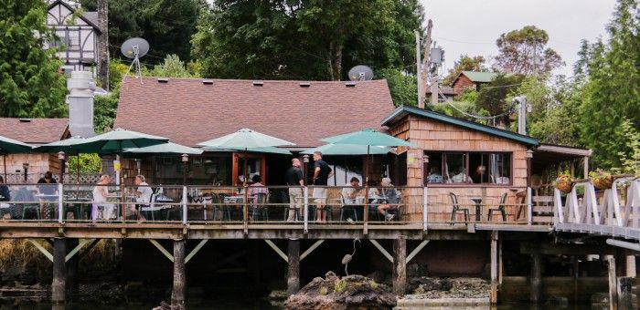 A great little restaurant at the end of the road in Genoa Bay, the Genoa Bay Cafe