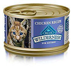 Blue Wilderness Kitten Grain Free Chicken Pate Wet Cat Food 3 Oz Pack Of 24 Best Cat Food Dry Cat Food Cat Food
