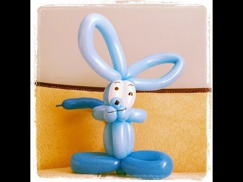 Como hacer un conejo con globos globoflexia videos - Como hacer figuras con globos ...