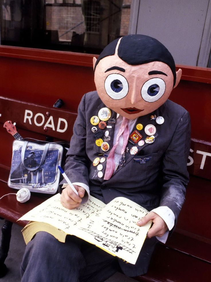 Chris Sivey / Frank Sidebottom; was inspiration for the movie ''Frank'', 2014