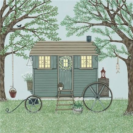Shepherds Hut - Sally Swannell