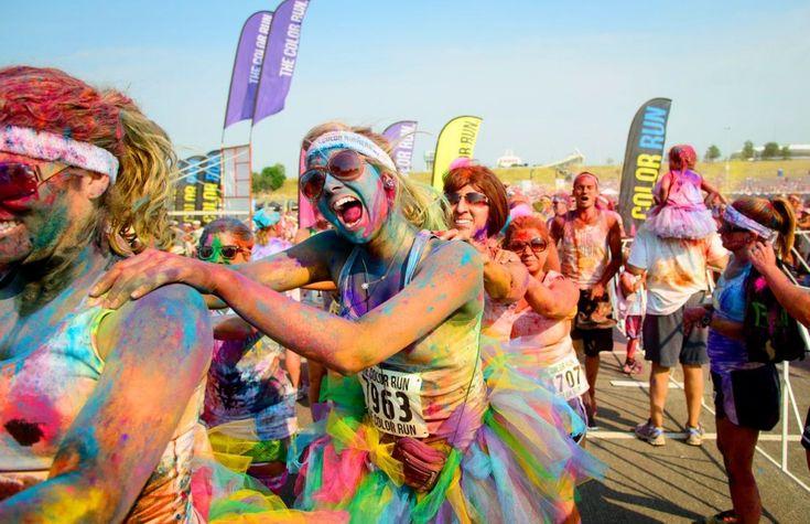 COOL EVENT: de Color Run in Brussel - ELLE.be