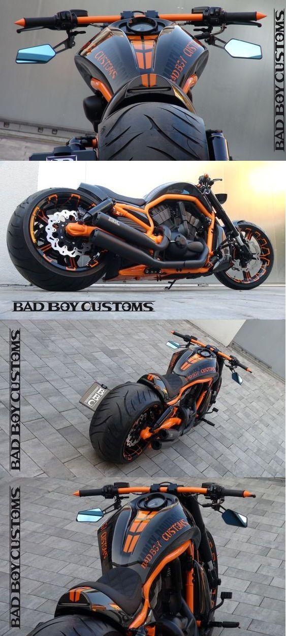Harley Davidson V Rod muscle by Bad Boy CustomsBrapwrap