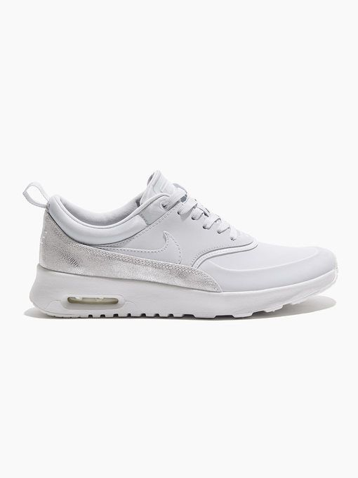 new product d38f5 cacb1 NIKE W Nike Air Max Thea Prm Pure platinum Pure platinum-summit white-mtlc  plat SNEAKERS
