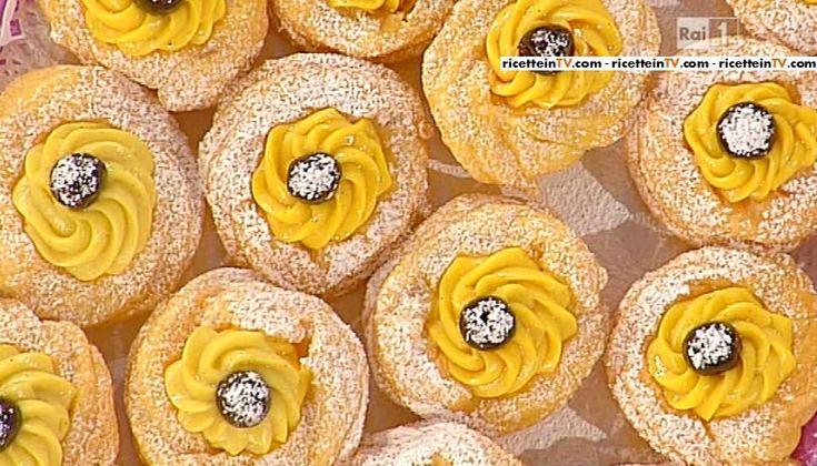 La ricetta delle zeppole di Anna Moroni del 28 gennaio 2015 - Dolci dopo il tiggì