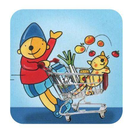 Pompom Supermarkt Winkel Boodschappen doen