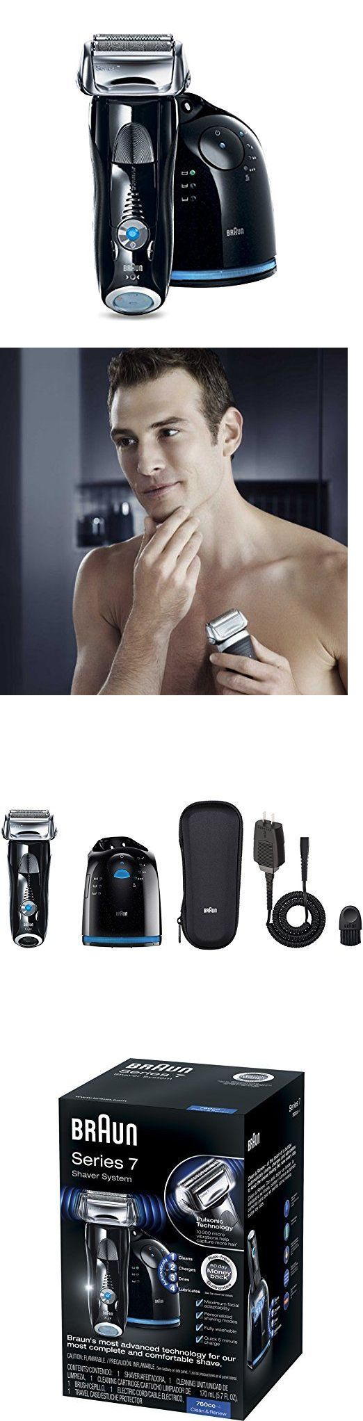 Other Consumer Electronic Lots: Braun Series 7 760Cc-4 Electric Foil Shaver For Men With Clean And Charge Station BUY IT NOW ONLY: $164.0