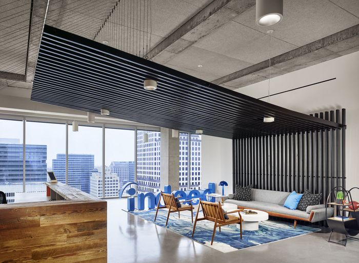 STG Design Designed The Offices Of Job Search Company Indeed Located In Downtown Austin