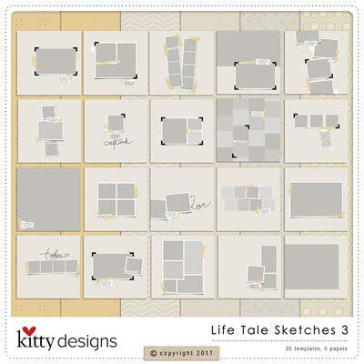 oscraps.com - digital photobook designs