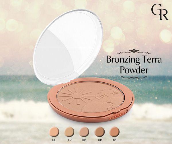 Yaz bitse bile Bronzing Terra Powder ile 4 mevsim bronzluğa sahip olabilirsin! http://www.goldenrosestore.com.tr/bronzing-terra-powder-spf15.html