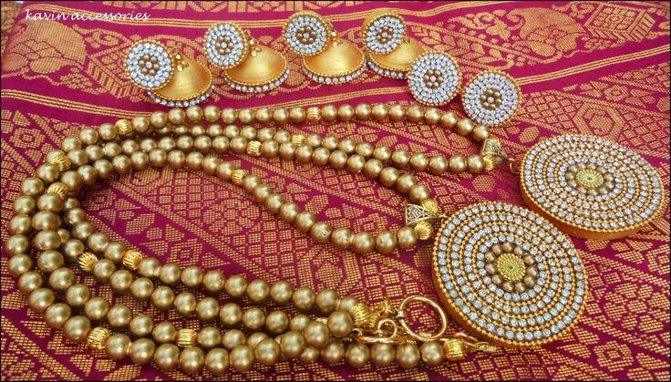 Golden set :) #kavinaccessories  Golden set Kavin accessories