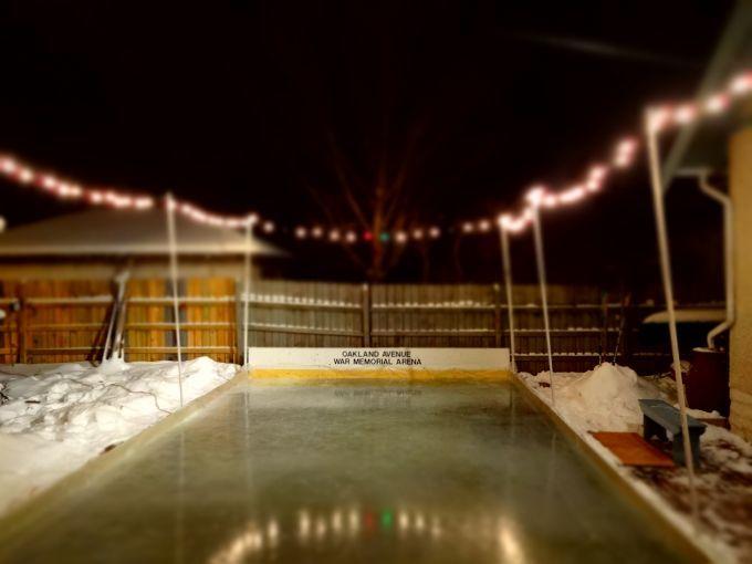Building a Backyard Ice Rink, Part 2 | Backyard ice rink ...