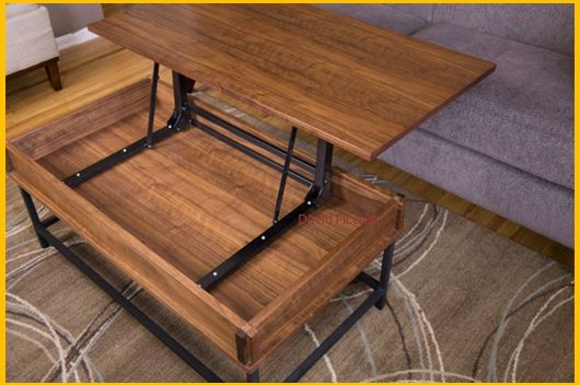 [Video] Save on Expensive Commercial Coffee Tables By Building This Elegant DIY Coffee Table With Lift Up Top. – BRILLIANT DIY