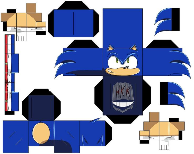 Modern Sonic By Hollowkingking On Deviantart Paper