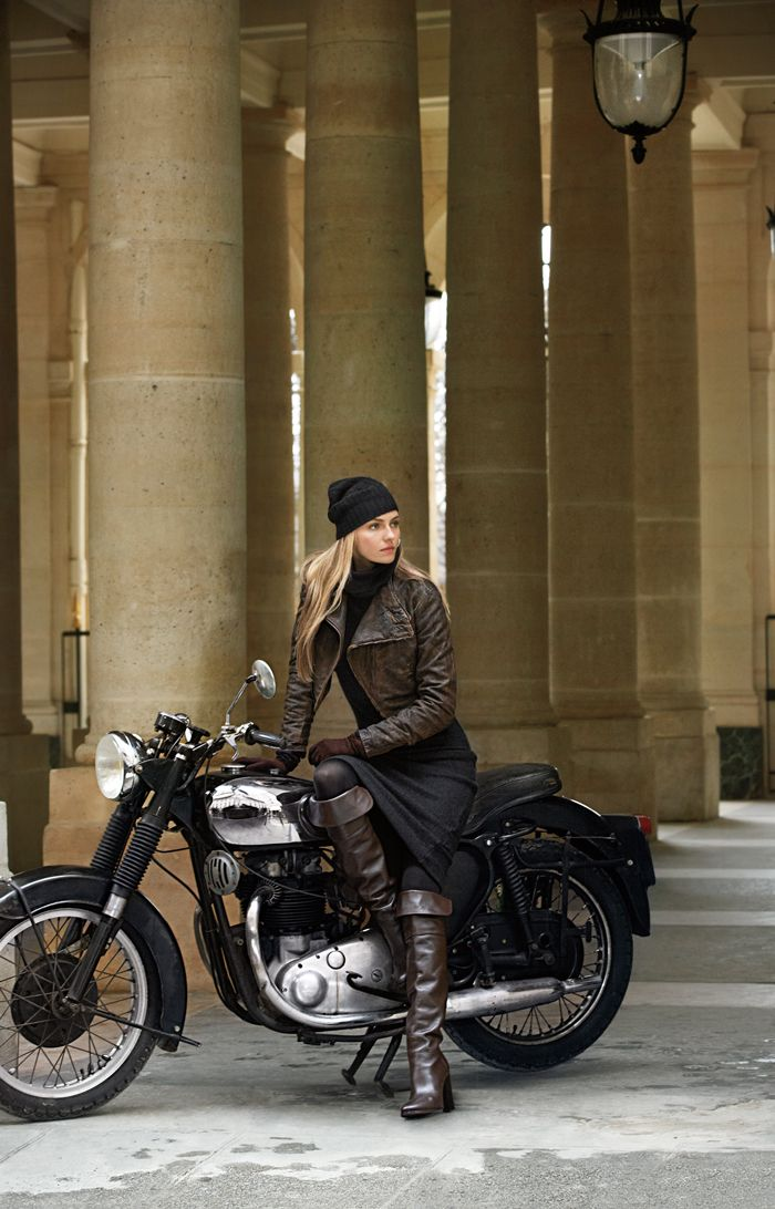 Find a balance of rugged and feminine with Black Label Denim Fall 2013