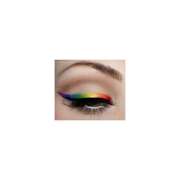 Instagram photo by アメリカ発コスメブランド?コースタルセンツの日本公式サイト • May 19, 2016 at... ❤ liked on Polyvore featuring beauty products, makeup, beauty, rainbow, colorful and eye makeup