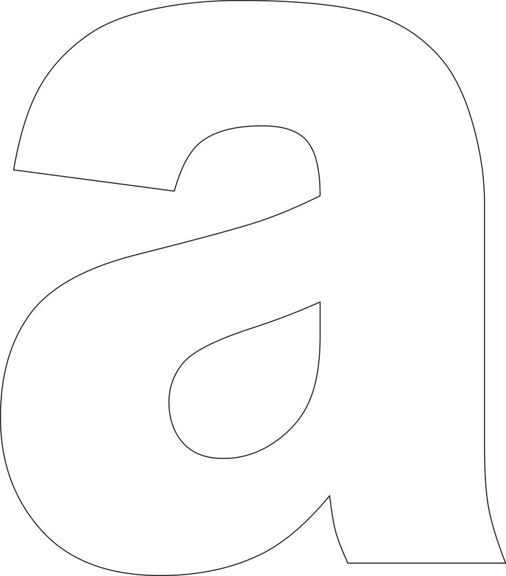 Use these free printable lower case alphabet templates to create custom handmade cards, in scrapbooking projects, to make word books and for use in a wide variety of other crafts.