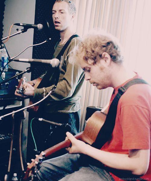 Chris Martin & Jonny Buckland, Coldplay