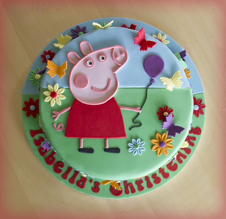 how to make a pig cake step by step