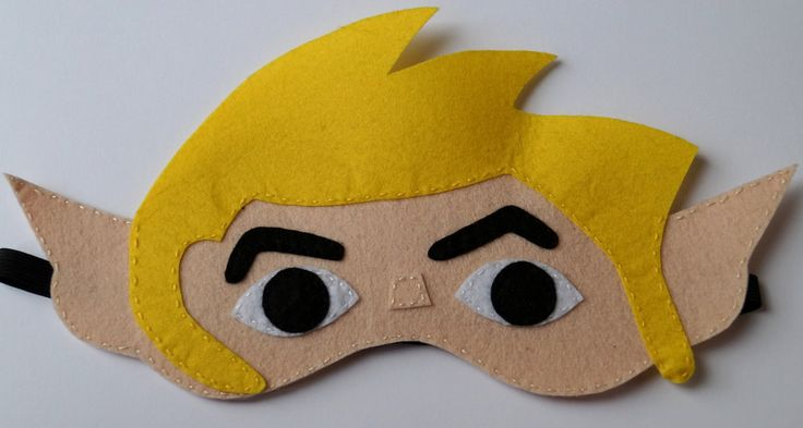 Toon Link (from Zelda) blindfold by TosTosia