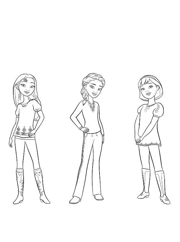 Coloring Page Spirit Riding Free Spirit Riding Free 2 Free Coloring Pages Coloring Pages For Girls Cartoon Coloring Pages
