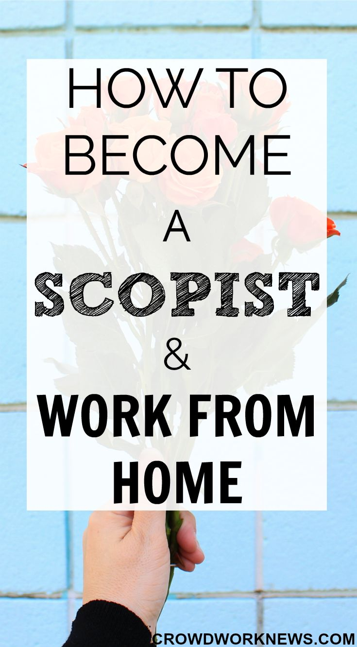 Scoping is a very lesser known but a perfect work at home career. Click through to find out everything about this super flexible and profitable work from home job.