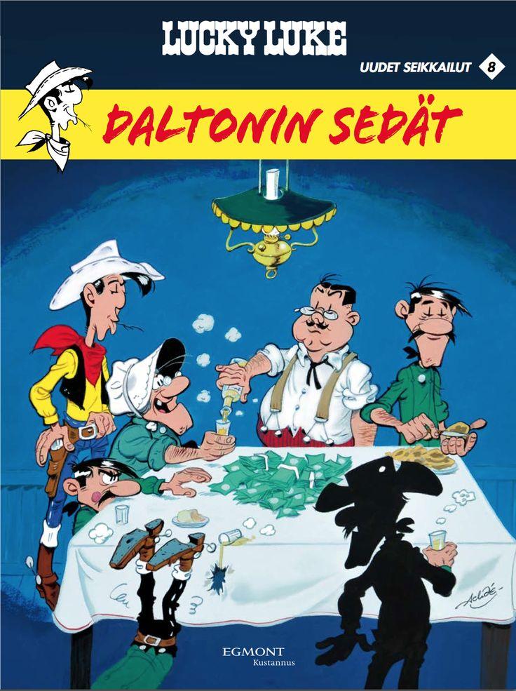 Uusi Lucky Luke! #sarjakuva #sarjis #Egmont #Daltonit