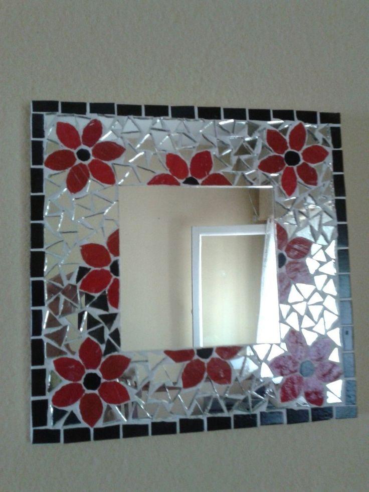 25 parasta ideaa pinterestiss espejos con venecitas for Mosaicos para espejos