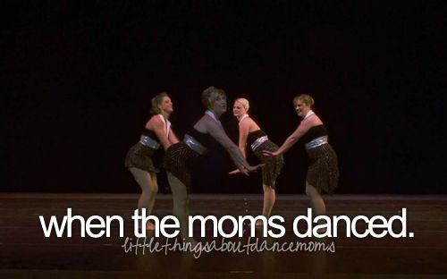 One of  the funniest moments on dance moms so far!!