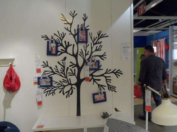 Ikea Showroom Gallery Wall Ideas Family Tree