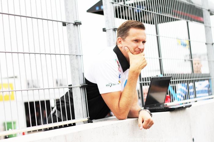 Polestars teamchef Christian Dahl. The team leader of the Swedish TTA team Polestar racing, Christan Dahl. #tta #people #racing #motorsport #photography #foto