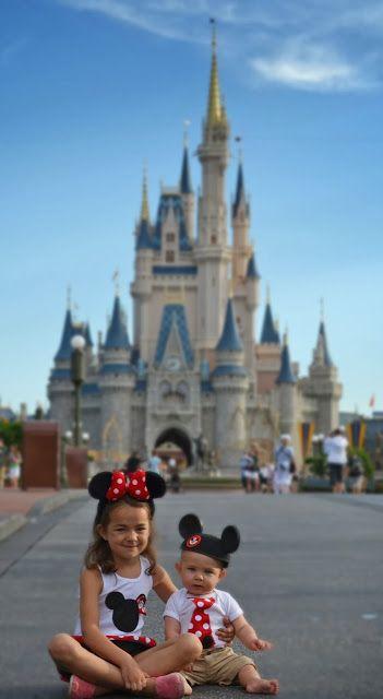 Disney sibling pics.  Main Street USA Magic Kingdom Walt Disney World #disneyside