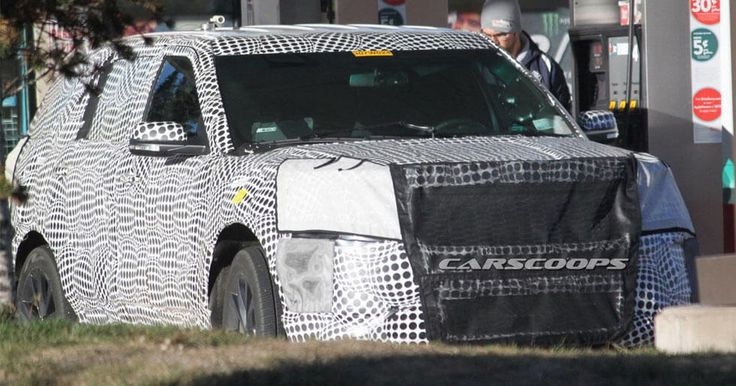2019 Ford Explorer Spied, Could Eventually Spawn A New Lincoln Aviator #Ford #Ford_Explorer