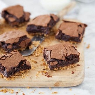Pretzel Crusted Brownies « Go Bold with Butter