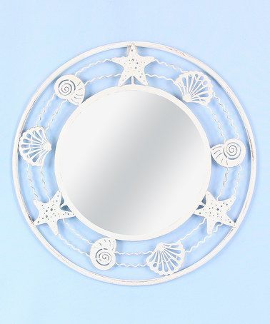 Another great find on #zulily! Metal Nautical Framed Mirror #zulilyfinds