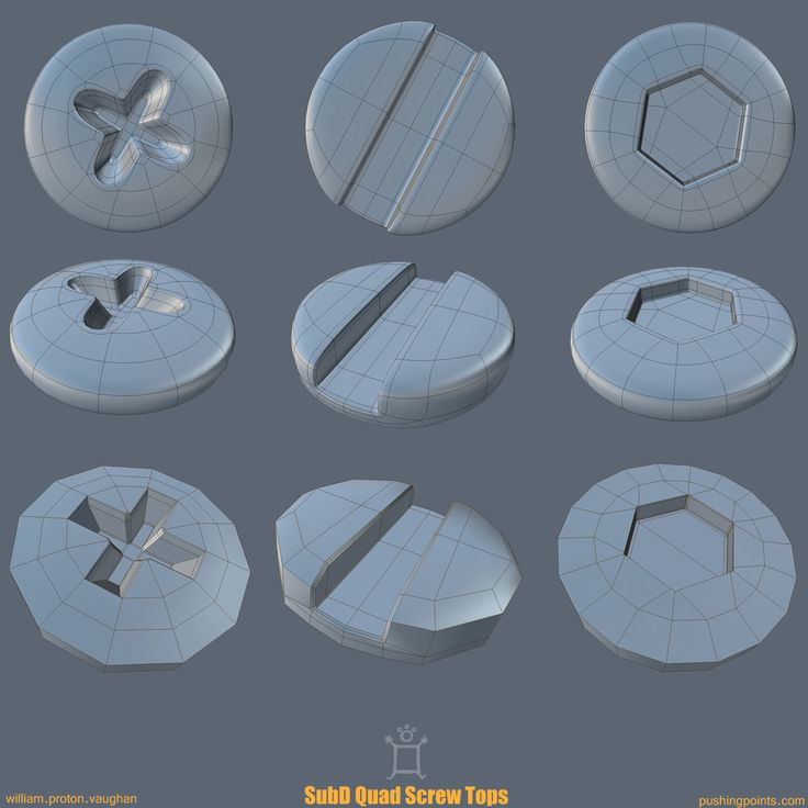 The Foundry Community :: Forums :: SubD Quad Screw Tops