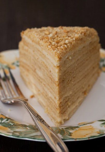 """Russian Monday: """"Medovik"""" - Honey Cake with step by step instructions and photos"""
