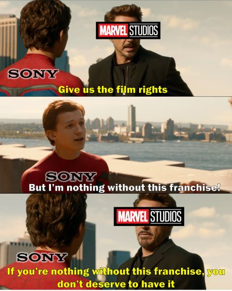 SPOILER for Spiderman: Homecoming (but not really it was in the trailers)