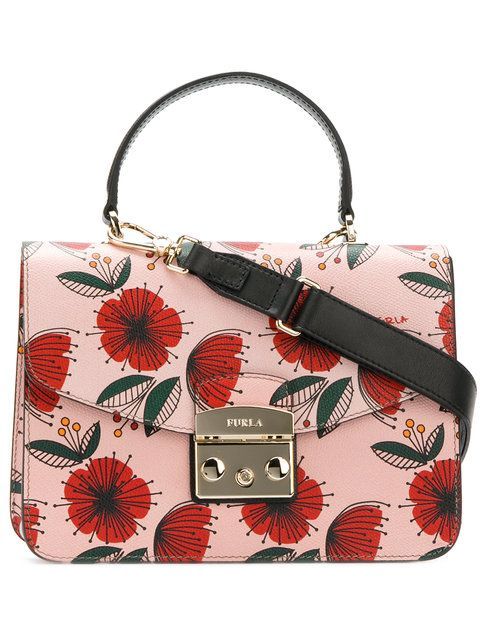 FURLA . #furla #bags #shoulder bags #leather #stone #