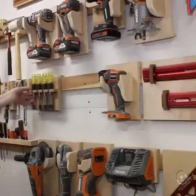 170 Tool Storage Ideas Mr Diy Guy In 2021 Woodworking Plans Storage Tool Storage Diy Woodworking Shop Projects