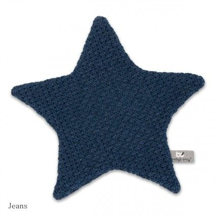 Baby's Only knuffeldoekje ster stoer jeans blauw! #knuffel #knuffeldoekje #ster #stoer #baby #only #jeans #blauw