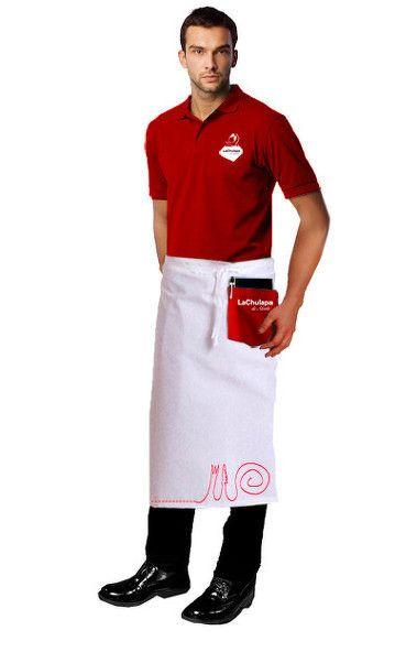 Diseño de uniforme personal del restaurante