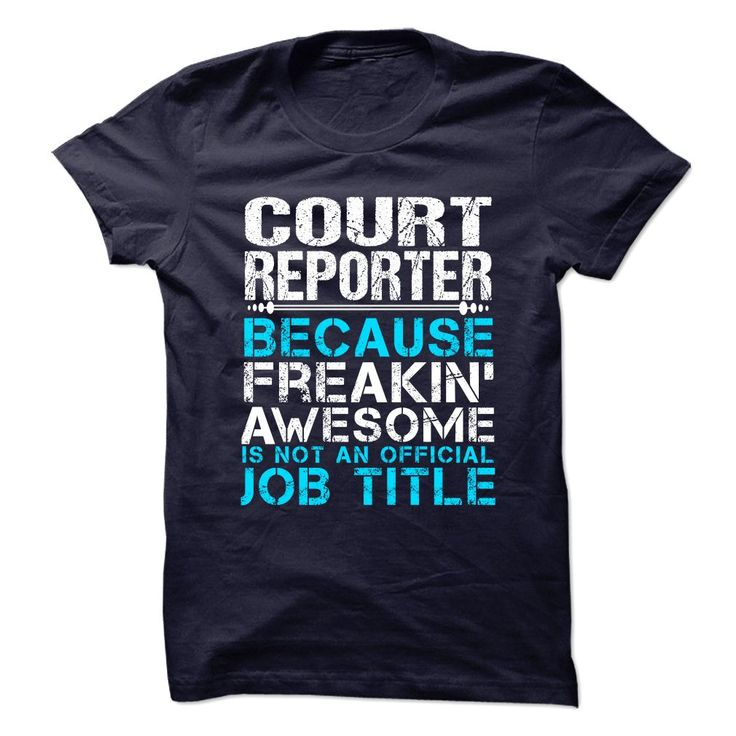 COURT-REPORTER - ᗖ Freaking AwesomeCOURT-REPORTER